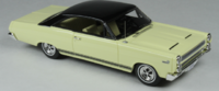 1966 Mercury Comet Cyclone Jamaican Yellow  in 1:43 scale by Goldvarg Collection