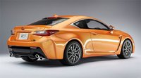 Lexus RCF in Orange w Black Interior New Samurai Series Resin Model Car in 1:18 Scale by Kyosho