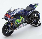 Yamaha YZR M1 #99 - Movistar Yamaha MotoGP Winner French GP Model Motorcycle in 1:12 Scale by Spark