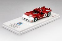 1971 Alfa Romeo Tipo 33/3 #2 Targa Florio 2nd Place Autodelta Model Car in 1:43 Scale by Truescale Miniatures