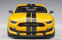Ford Mustang Shelby GT350R in Yellow Model Car in 1:18 Scale by AUTOart