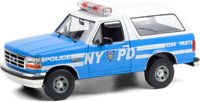 1992 Ford Bronco (NYPD) In 1:18 Scale by Greenlight