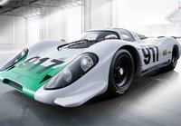 Porsche 917 LH Geneve Motor Show 1969 in 1:18 Scale by BBR