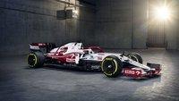 Alfa Romeo ORLEN C41 Bahrain GP 2021 Antonio Giovinazzi in 1:43 scale by Spark