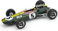 F1 Lotus 33,  Jim Clark #5 WINNER Eng GP 1965 WORLD CHAMPION in 1:43 scale by Brumm