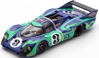 Porsche 917 No.3 2nd 24H Le Mans 1970 in 1:43 Scale by Spark