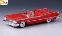1958 Chrysler Imperial Crown Convertible Open roof in 1:43 scale by GLM
