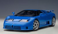 BUGATTI EB110 SS (FRENCH RACING BLUE) in 1:18 scale by AUTOart