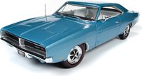 1969 Dodge Charger R/T Hardtop MCACN in 1:18 Scale by Auto World