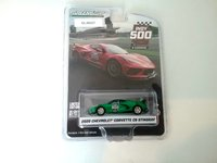 """2020 Chevrolet Corvette Stingray Coupe - 104th Running of the Indianapolis 500 Official Pace Car in 1:64 scale """"green machine"""" by Greenlight"""