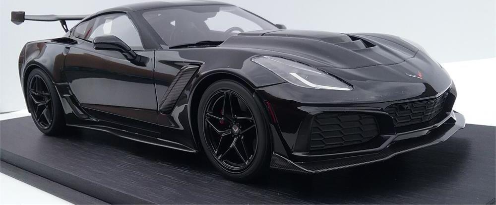 2019 Corvette ZR1 in Black Mint Models Exclusive LTD ED of ...