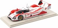 1992 Toyota TS 010 #7 Le Mans Model Car in 1:43 Scale by Spark