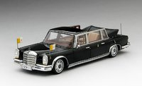 1965 Mercedes-Benz 600 Landaulet Pope Paul VI Model Car in 1:43 Scale by Truescale Miniatures