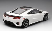 2017 Acura NSX 130R White LHD Model Car in 1:12 Scale by Truescale Miniatures