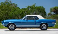 1968 Shelby GT500 Convertible Acapulco Blue in 1:18 scale by Acme Diecast