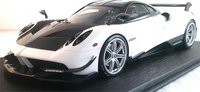 Pagani Huayra Matt White Resin Model in 1:18 Scale by Topspeed