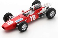BRABHAM BT7 NO.18 BRITISH GP 1966 JO BONNIER in 1:43 scale by Spark
