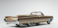 1964 Cadillac De Ville in Firemist Saddle in 1:43 scale by Goldvarg Collection