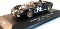 1966 Ford GT40 Mk II #2 Le Mans Winner in 1:43 Scale by Ixo