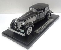 1937 Duesenberg SJ Town Car Chassis 2405 by Rollson for Mr. Rudolf Bauer  in 1:43 Scale by Esval Models