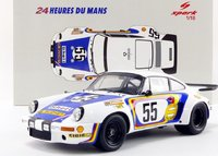 1975 Porsche 911 RSR No.55 Le Mans in 1:18 Scale by Spark