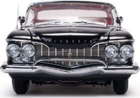 1960 Plymouth Fury Hard Top Jet Black Diecast Model Car in 1:18 Scale by Sun Star