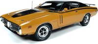 1971 Dodge Charger R/T Hardtop MCACN in 1:18 Scale by Auto World