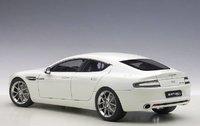 2015 Aston Martin Rapide S in Stratus White Model Car in 1:18 Scale by AUTOart
