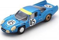 Alpine A210 No.45 13th 24H Le mans 1967 J. Vinatier M. Bianchi in 1:43 scale by Spark
