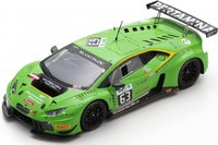 LAMBORGHINI HURACÁN GT3 24H SPA 2016 D. ALESSI in 1:43 scale by Spark