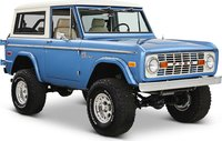 1969 Ford Bronco Sport Brittany Blue in 1:18 Scale by Greenlight