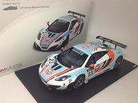 2012 McLaren MP4-12C GT3 #23 Macau GP, United Autosports/Gulf in 1:18 Scale by True Scale Miniatures