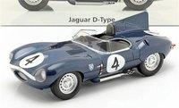 Jaguar Type D Winner Le Mans #4 1956 in 1:18 scale by CMR
