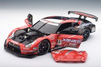 Nissan GT-R Racing Super GT 2008 Launch Version Diecast Model Car in 1:18 Scale by AUTOart