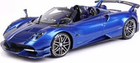 Pagani Huayra Roadster BC Special Metallic Blu in 1:18 scale by BBR