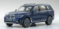 BMW X7 in phytonic blue in 1:18 scale by Kyosho