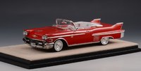 1958 Cadillac Series 62 Convertible Red in 1:43 scale by Stamp Models