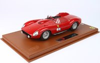 1957 Ferrari 315 S 335S in red. Street version in 1:18 scale by BBR