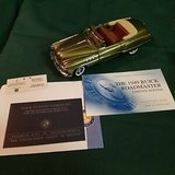 1949 Buick Roadmaster Limited Edition of 750 pieces in 1:24 scale by the Franklin Mint