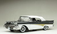 1958 FORD FAIRLANE 500 CLOSED CONVERTIBLE in 1:18 scale by Sun Star