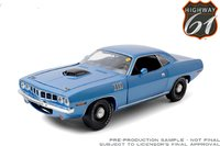 1971 Plymouth Hemi Cuda Mecum Auctions in 1:18 Scale by Highway 61