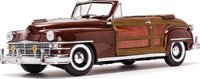 1948 Chrysler Town & Country Costa Rica Brown  in 1:18 Scale by Sunstar