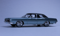 1970 FORD Galaxie Grey Metallic in 1:43 scale by Goldvarg Collection
