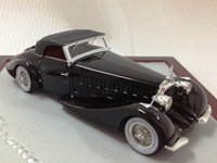 1934 Voisin C15 Saliot Roadster Resin Model Car in 1:43 Scale by Ilario
