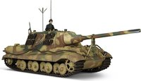 German Sd.Kfz.186 Panzerjager Tiger Ausf. B Heavy Tank in 1:32 scale by Forces of Valor