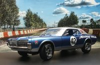 1967 Mercury Cougar Racing #42 in 1:18 scale by Sun Star