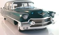 1956 Cadillac Series 75 Fleetwood Limo in Arlington Green LTD ED 79 in 1:18 Scale by GLM