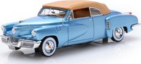1948 Tucker Torpedo Convertible Top Up in 1:43 Scale by Esval Models