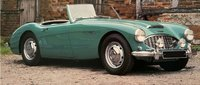 Austin Healey 3000 Mk.1 1959 Green in 1:18 scale by Norev