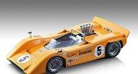 McLAREN M8A CAN AM #5 WINNER ROAD AMERICA 1968 D.HULME in 1:18 scale by Tecnomodel